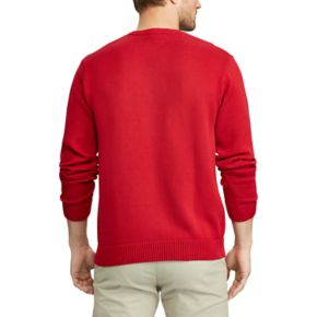 Men's Chaps Classic-Fit Solid Crewneck Sweater