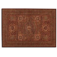 Couristan Old World Classics Mamluken Framed Floral Wool Rug