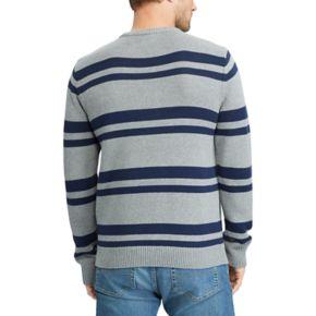 Men's Chaps Classic-Fit Striped Crewneck Sweater