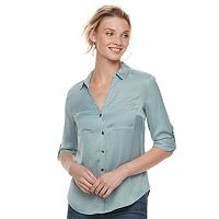 Women's Rock & Republic® Satin Blouse