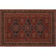 Couristan Old World Classics Kashkai Framed Floral Wool Rug