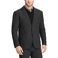 Men's Chaps Classic-Fit Herringbone Wool-Blend Blazer