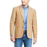 Men's Chaps Classic-Fit Herringbone Wool-Blend Blazer