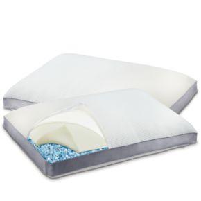 Serta 2-pack Layered Comfort Gel Memory Foam Pillow