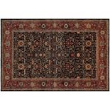 Couristan Old World Classics Joshagan Framed Floral Wool Rug