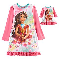 Disney's Elena Avalor Girls 4-8 Nightgown & Doll Gown
