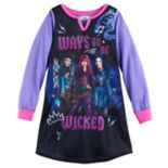 "Disney's Descendants Uma, Mal & Evie Girls 6-14 ""Ways To Be Wicked"" Nightgown"