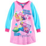 "Girls 6-12 Shopkins ""Best Friends Party Together"" Nightgown"