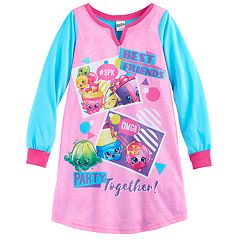 Girls 6-12 Shopkins 'Best Friends Party Together' Nightgown