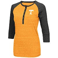 Women's Campus Heritage Tennessee Volunteers 3/4-Sleeve Henley Tee