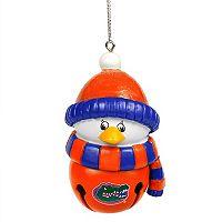 FOCO Florida Gators Penguin Bell Christmas Ornament