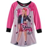 "Girls 6-12 JoJo Siwa ""Be You"" JoJo Photoreal Graphic Nightgown"