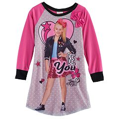 Girls 6-12 JoJo Siwa 'Be You' JoJo Photoreal Graphic Nightgown