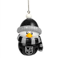 FOCO Los Angeles Kings Penguin Bell Christmas Ornament