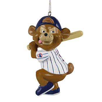 Cubs Christmas Ornaments.Foco Chicago Cubs Clark Christmas Ornament