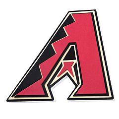 Arizona Diamondbacks 3D Fan Foam Logo Sign