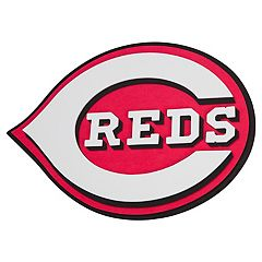 Cincinnati Reds 3D Fan Foam Logo Sign