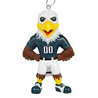 FOCO Philadelphia Eagles Swoop Christmas Ornament