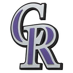 Colorado Rockies 3D Fan Foam Logo Sign
