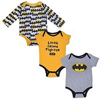 Baby Boy DC Comics Batman Bodysuit Set