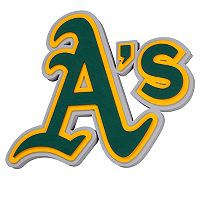 Oakland Athletics 3D Fan Foam Logo Sign