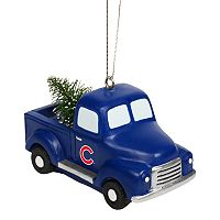 FOCO Chicago Cubs Truck Christmas Ornament