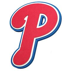 Philadelphia Phillies 3D Fan Foam Logo Sign