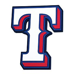 Texas Rangers 3D Fan Foam Logo Sign