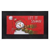 Natco ''Let it Snow'' LED Light & Sound Doormat - 18'' x 30''