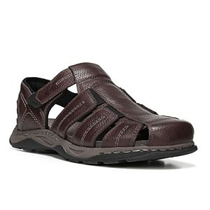 feef13b4df56 Men s Dockers Faux Leather Elastic Slide Flip-Flops. Regular