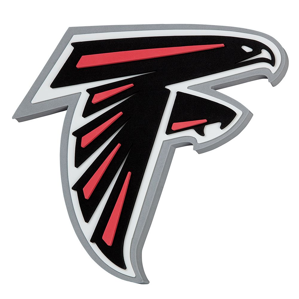 Atlanta Falcons 3d Fan Foam Logo Sign