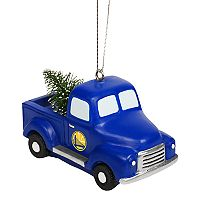 FOCO Golden State Warriors Truck Christmas Ornament