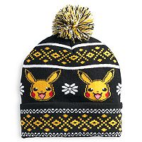 Men's Pokemon Pikacu Beanie