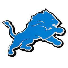 Detroit Lions 3D Fan Foam Logo Sign