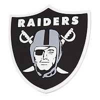 Oakland Raiders 3D Fan Foam Logo Sign