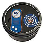 Team Golf New York Islanders Switchfix Divot Tool & Golf Chip Set