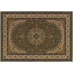 Couristan Izmir Royal Kashan Framed Floral Rug