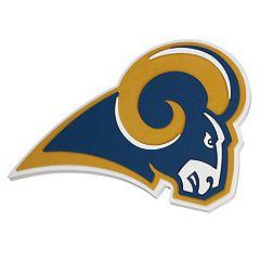 Los Angeles Rams 3D Fan Foam Logo Sign