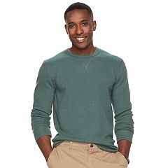Men's SONOMA Goods for Life™ Classic-Fit Soft-Touch Stretch Thermal Crewneck Tee