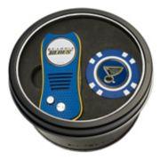 Team Golf St. Louis Blues Switchfix Divot Tool & Golf Chip Set