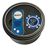 Team Golf St. Louis Blues Switchfix Divot Tool & Golf Chip Set