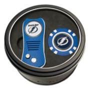 Team Golf Tampa Bay Lightning Switchfix Divot Tool & Golf Chip Set