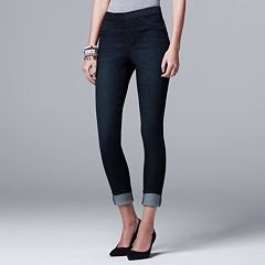 Petite Simply Vera Vera Wang Pull-On Jeggings