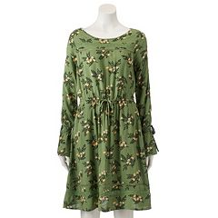 Women's LC Lauren Conrad Inset Lace Shift Dress