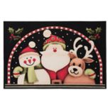 "Natco Holiday Snowy Pals Rug - 20"" x 30"""