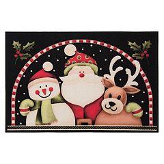 Natco Holiday Snowy Pals Rug - 20' x 30'