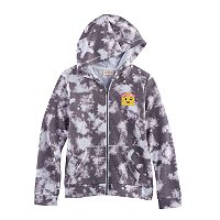 Girls 7-16 SO® Zip-Up Graphic Hoodie