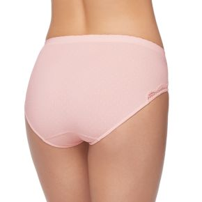 Maidenform Casual Comfort Seamless Lace Trim Hipster Panty DMCCSH