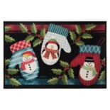 "Natco Holiday Warm Mittens Rug - 20"" x 30"""