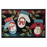 Natco Holiday Warm Mittens Rug - 20